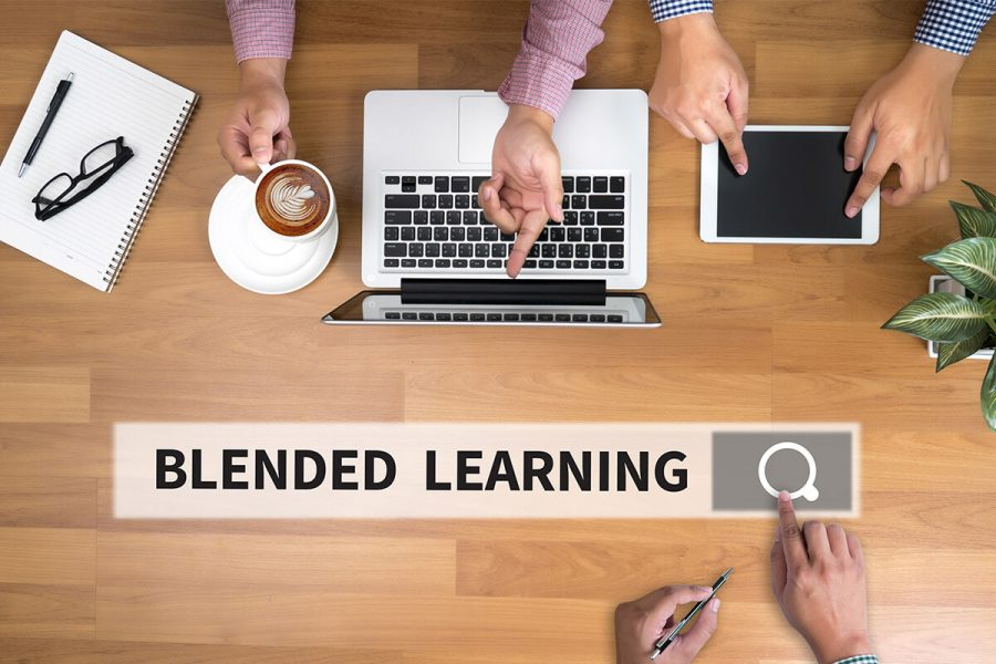 blended learning solutions, interactive virtual reality, digital learning